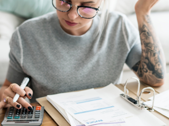 4 Passos pra organizar sua vida financeira